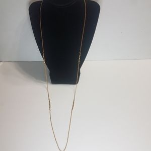 Roget Necklace Dainty Gold Tone Necklace